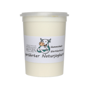 24_Milchhof Heesen 500g Natur Joghurt neu