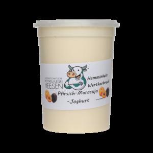 24_Milchhof Heesen 500g Pfirsich Maja Joghurt neu