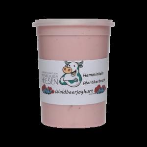 24_Milchhof Heesen 500g Waldbeer Joghurt neu