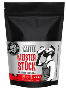 28_Mahlgrad Kaffee Meisterstück 250g Bohnen