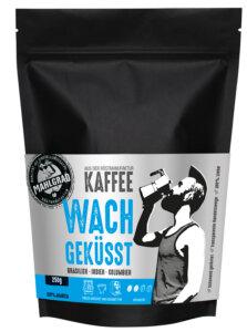 28_Mahlgrad Kaffee Wachgeküsst 250g Bohnen