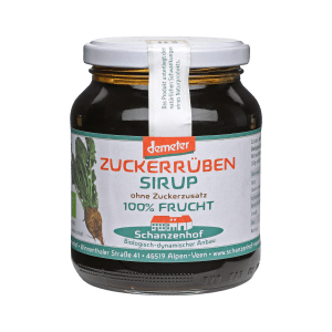 28_Schanzenhof Zuckerrüben Sirup 450g Glas