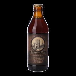 49_Gangelter Bier 0,33l Original dunkel