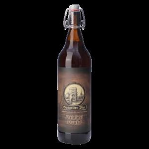 49_Gangelter Bier 1l Original dunkel