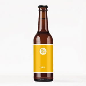 62_Biersmarck - Hell 0,33l Flasche
