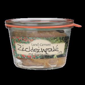 62_Lapinchen Zickleinpaté mit Bärlauch 250g Glas