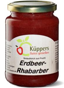 Design alt Küppers Fruchtaufstrich Erdbeer-Rhabarber 420g (1)