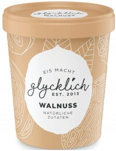 Eisbecher Walnuss