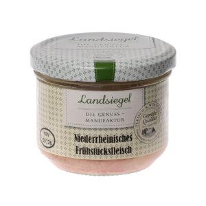 Landsiegel Metzgerei Komp Niederrh. Frühstücksfleisch 200g