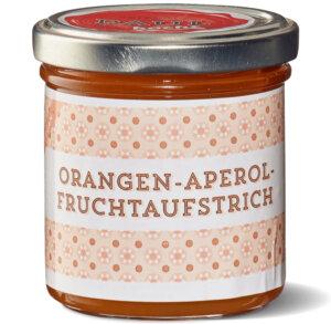 Paul kocht Fruchtaufstrich Orangen-Aperol 160g