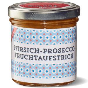 Paul kocht Fruchtaufstrich Pfirsich-Proseco 160g