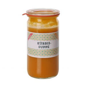 Paul kocht Kürbissuppe 300ml