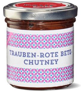 Paul kocht Trauben Rote Bete Chutney 160g