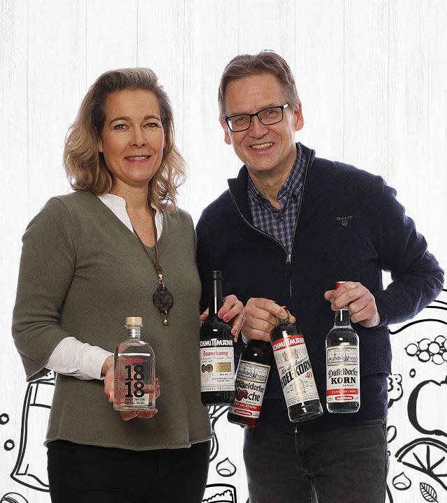 Sonja Schmittmann & Brennmeister Thorsten Franke