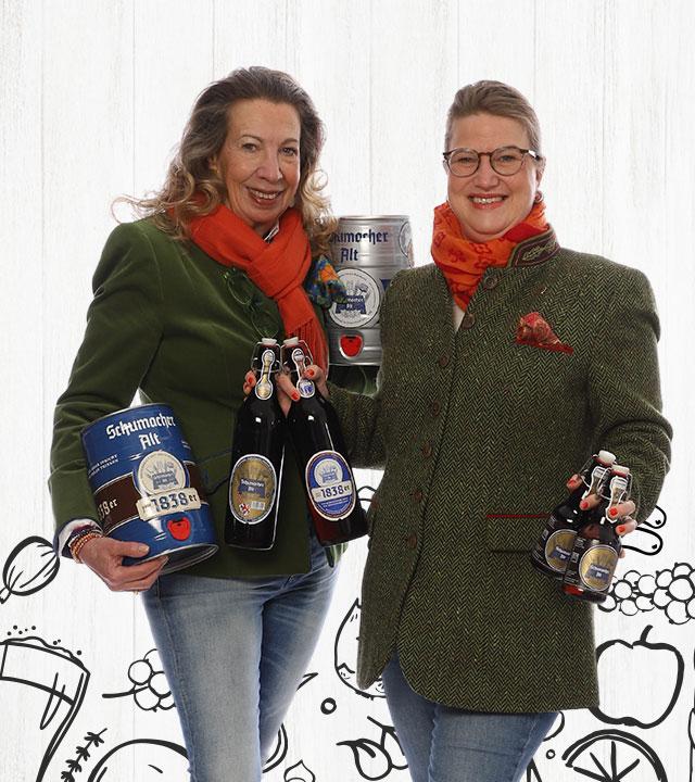 Thea Ungermann & Gertrud Schnitzler-Ungermann